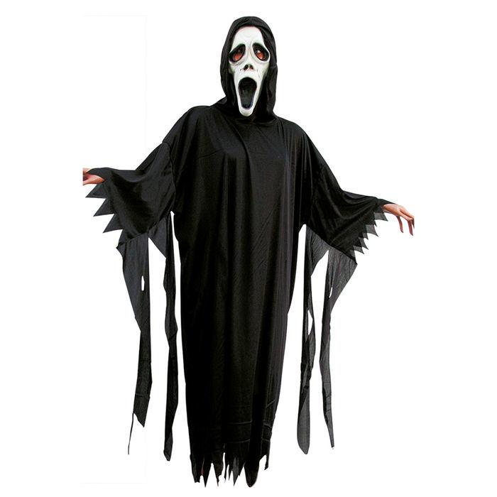 damen herrenkost m geist schwarz einheitsgr e hexen vampire halloween kost me nach. Black Bedroom Furniture Sets. Home Design Ideas