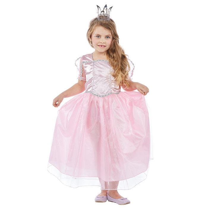 Kinder-Kostüm Prinzessin Elli, rosa, Gr. 116 - Prinzessin, Fee ...