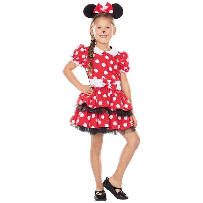 Kinder Kostum Mausmadchen Mit Ohren Gr 128 Bestseller