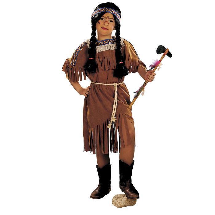 Kinder Kostum Indianer Madchen Gr 140 Kinderkostume 8 10 Jahre