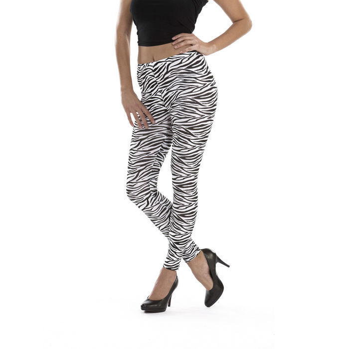 Leggings Zebra Design Gr. S-M Bild 2