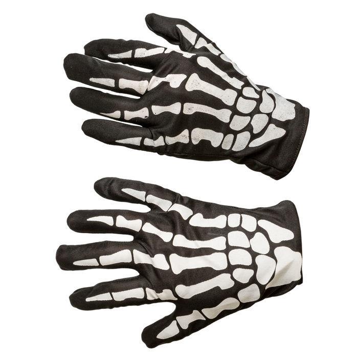 9d922213e4e0ef Handschuhe Skelett, Einheitsgröße - Halloween-Accessoires Halloween ...