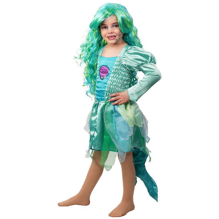 Kinder Kostum Meerjungfrau Kleid Gr 128 Prinzessin Fee Engel