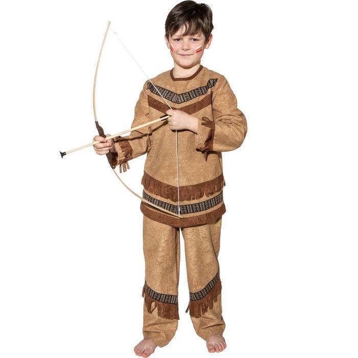 Kinder Kostum Indianer Cheyenne Gr 116 Cowboy Indianer Kostume