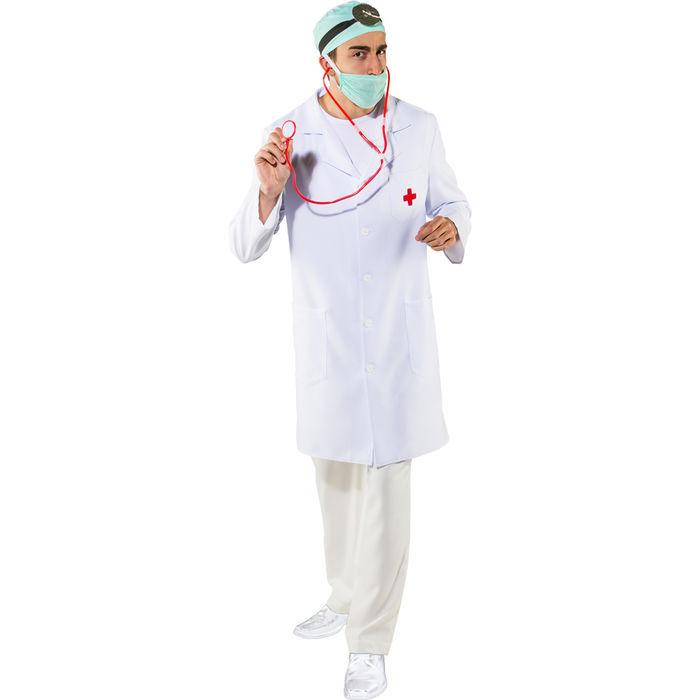 NEU Herren-Kostüm Arztkittel mit Kreuz, Gr. M - Junggesellenabschied ...