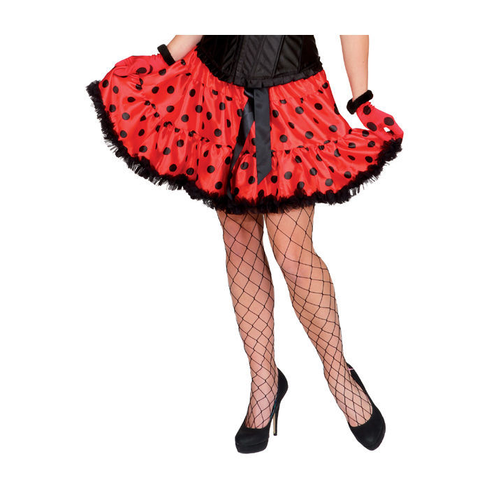 sale damen rock k fer schwarz rot einheitsgr e biene. Black Bedroom Furniture Sets. Home Design Ideas