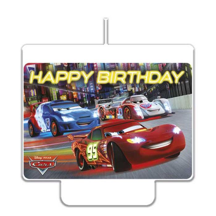 NEU Kerzen Cars Happy Birthday