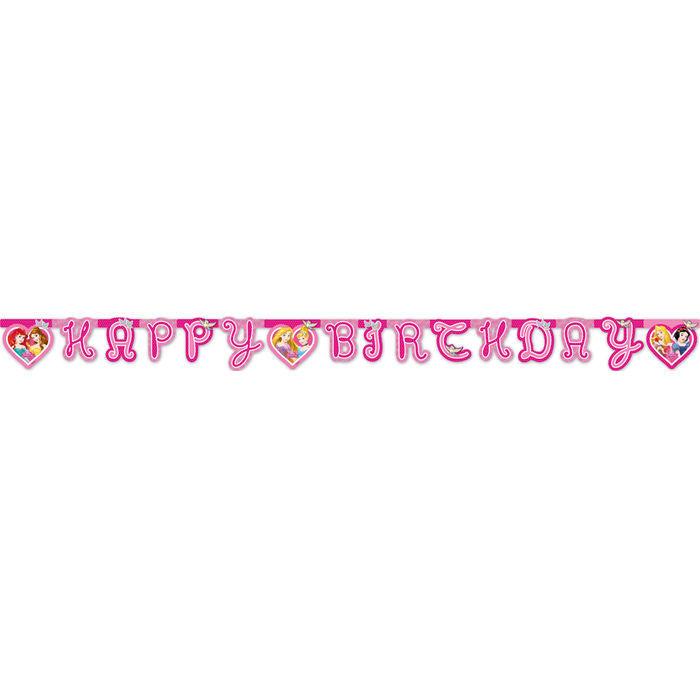 Girlande Disney Princess Happy Birthday 1 8 M Kinder Party Disney