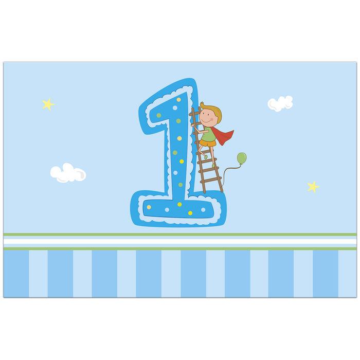 54-teilig 1.Geburtstag Mädchen Kindergeburtstag Deko Set Sweet Birthday Girl f