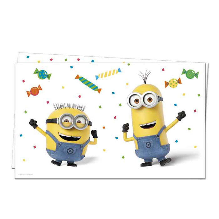 SALE Tischdecke Minion Party, 120 x 180 cm