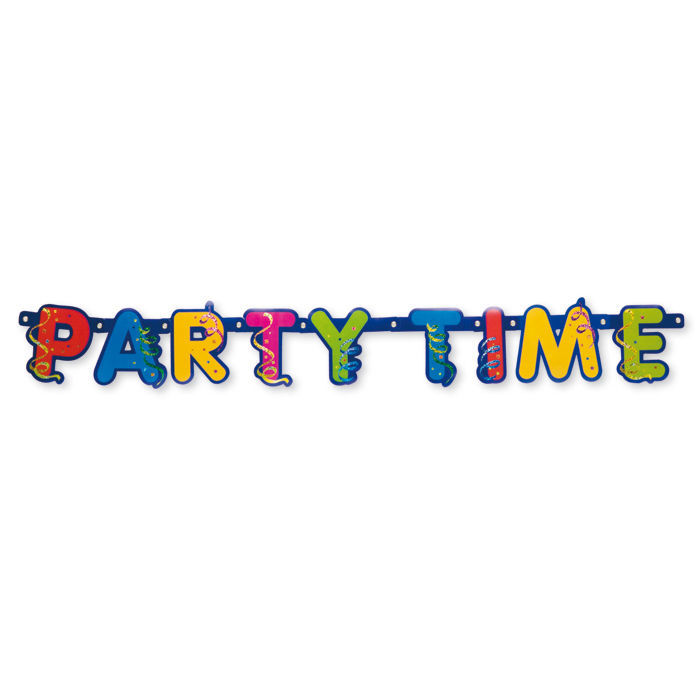 SALE Girlande Party Streamers, 1 Stück, 2 m
