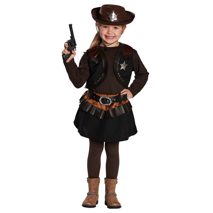 Kinder-Kostüm Little Cowgirl, Gr. 140