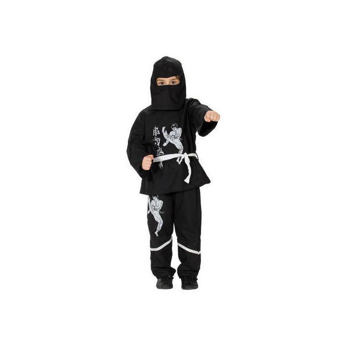 kinder kost m black ninja gr 152 164 ninja soldat. Black Bedroom Furniture Sets. Home Design Ideas
