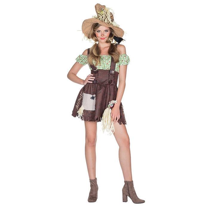 Neu Damen Kostüm Vogelscheuche Gr 36 Hexenkostüme Halloween