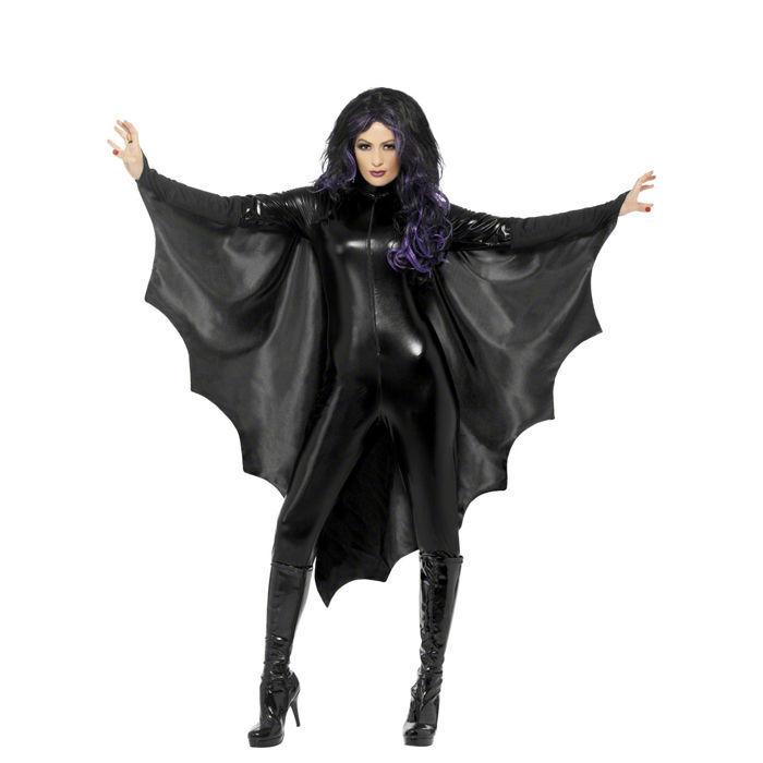 Umhang Fledermaus schwarz, Einheitsgröße - Hexenkostüme & Halloween ... Eyeshadow