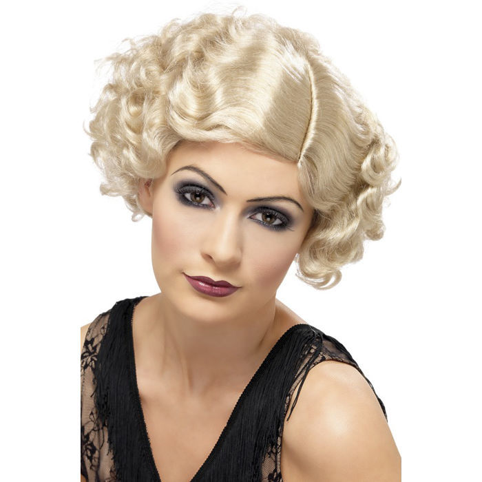 Perücke 20er Flirty Flapper, blond