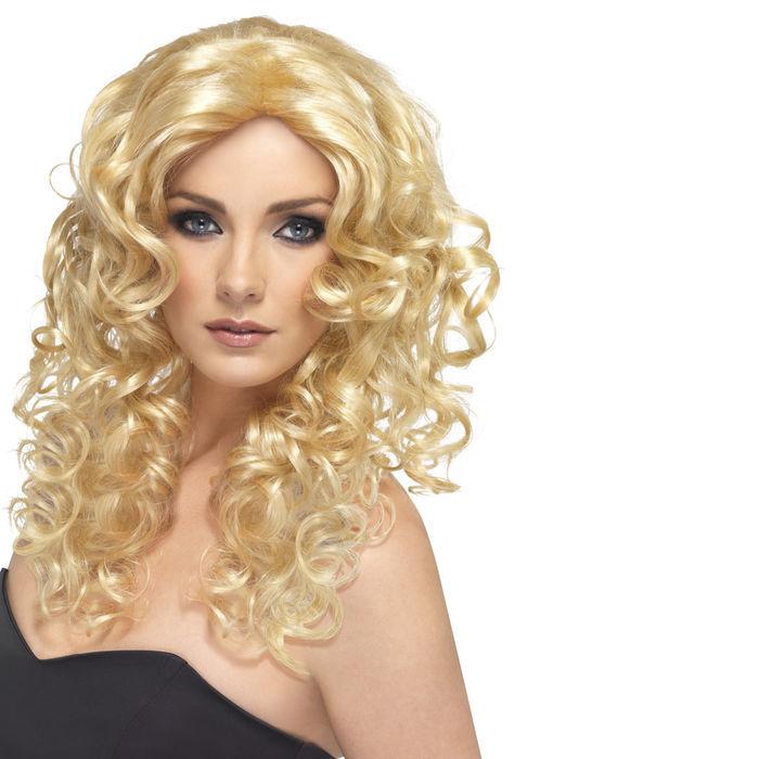 Perucke Glamour Locken Mittellang Blond Alle Perucken Perucken