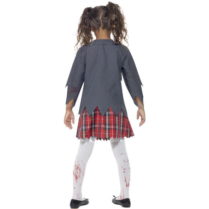 kinder kost m zombie school girl gr l kinder halloween. Black Bedroom Furniture Sets. Home Design Ideas