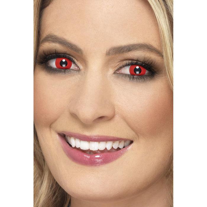 Neu Tages Kontaktlinsen Teufel Rot Kontaktlinsen Preishit