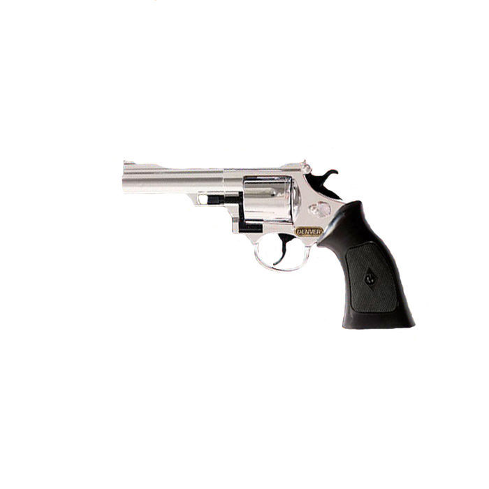 Cowboy Pistole DENVER CHROM 12 Schuss Colt Kinder Western