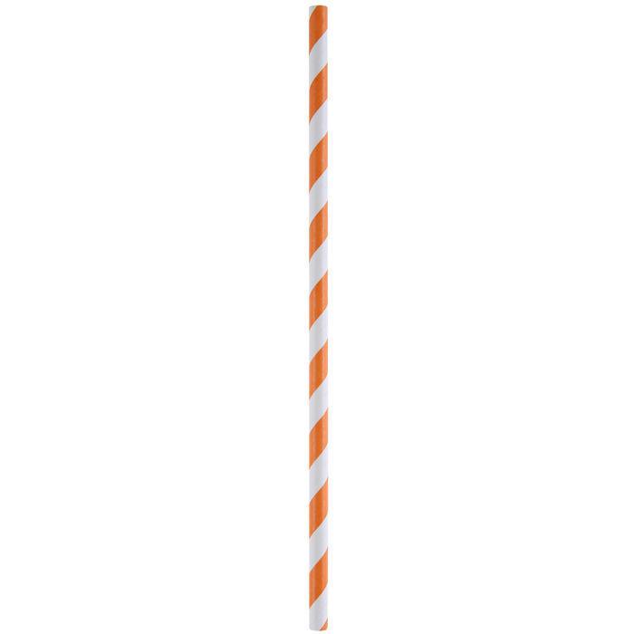 Papier Strohhalme Orange, 19,2 x 0,6cm, 20 Stk - St. Patricks Day ...