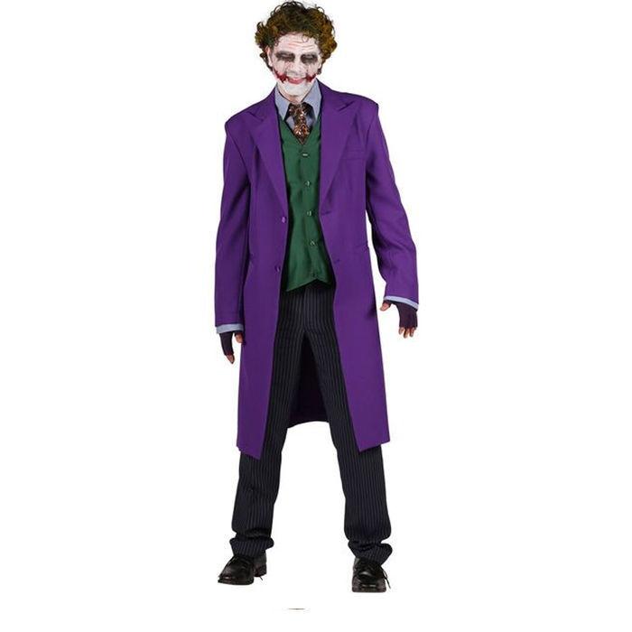 Neu Herren Kostum Joker Deluxe Gr Xxl Vampire Halloween