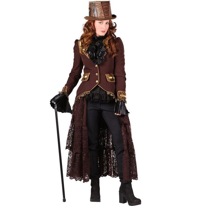 SALE Damen Kostüm Jacke Steampunk Deluxe, Gr. S