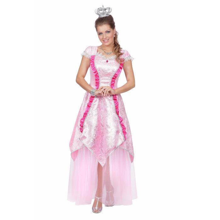 Damen-Kostüm Rosa Prinzessin, Gr. 46 - Prinzessin & Märchen Kostüme ...