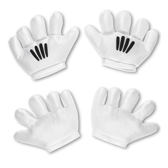 0d2e3eca4c4337 Handschuhe, Cartoon, weiß, one size - Handschuhe Kostüm-Accessoires ...