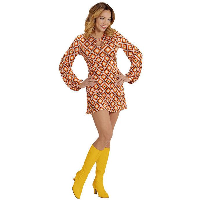 Damen-Kostüm Kleid Groovy, Rhombus, Gr. M - 50er   60er-Jahre ... 8de45cdd9d