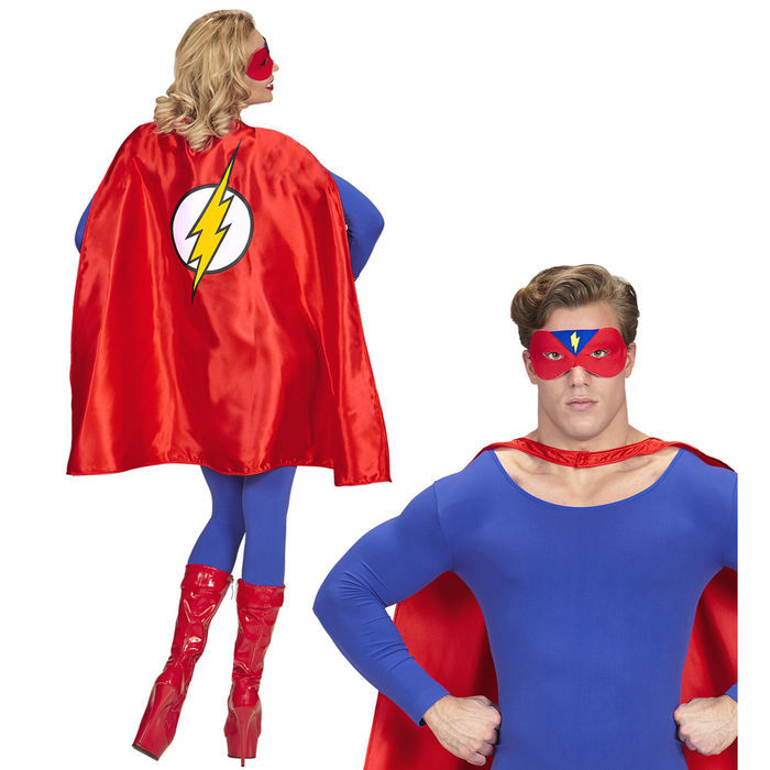 WIL Damen Kostüm Superheldin Karneval Fasching