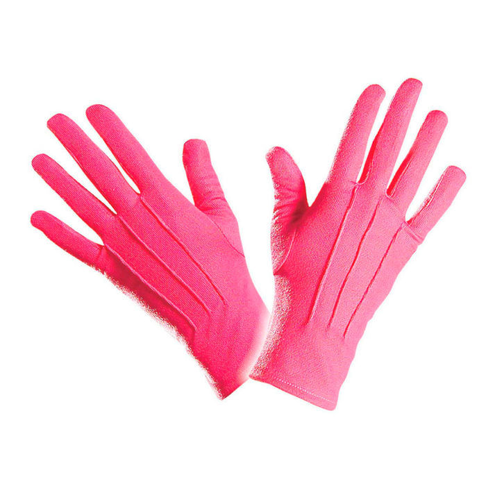 Handschuhe, pink, one size