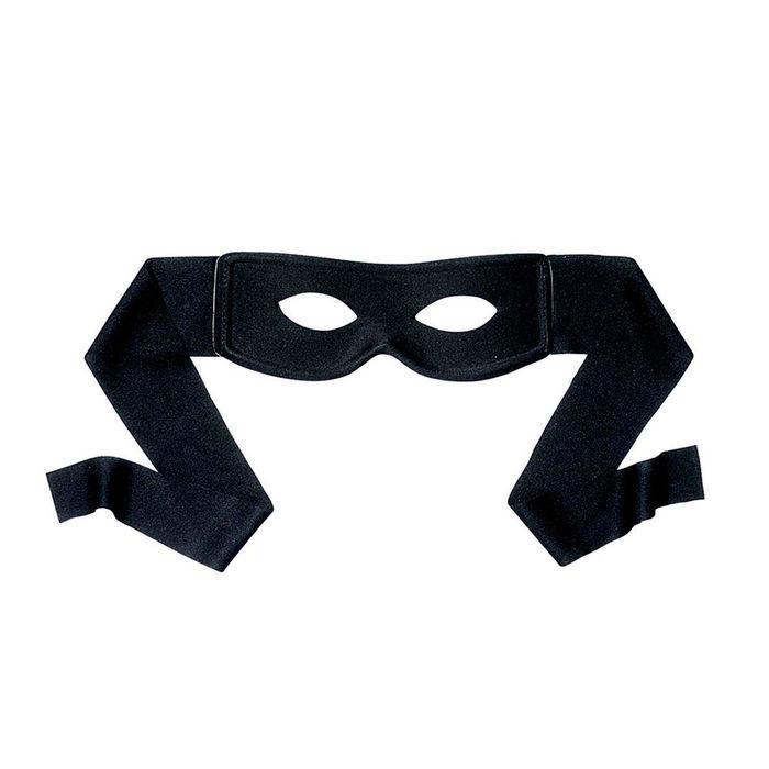 Maske Bandit, zum Binden - Accessoires Polizist & Sträfling Kostüm ...