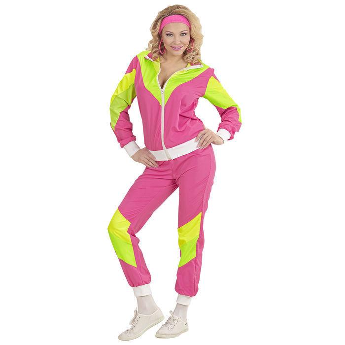 Damen Kostüm 80er Jahre Trainingsanzug L 80iger Jahre Motto Party