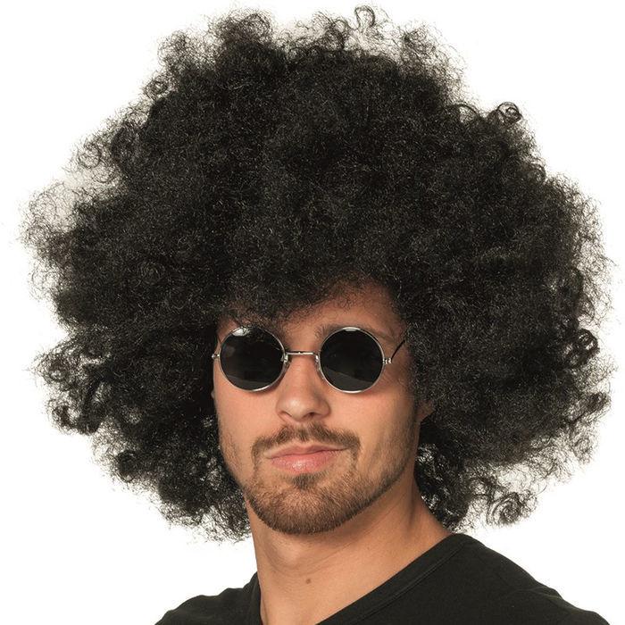 brille hippie runde schwarze gl ser aus metall kost m. Black Bedroom Furniture Sets. Home Design Ideas