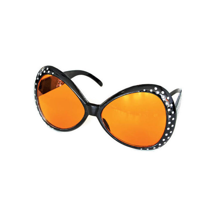 SALE Brille Trendy Star, schwarz