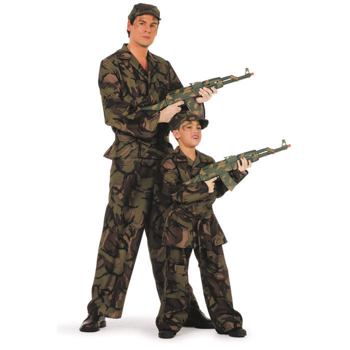 kinder kost m soldat gr 140 ninja soldat co kinderkost me nach themen kost me f r kinder. Black Bedroom Furniture Sets. Home Design Ideas