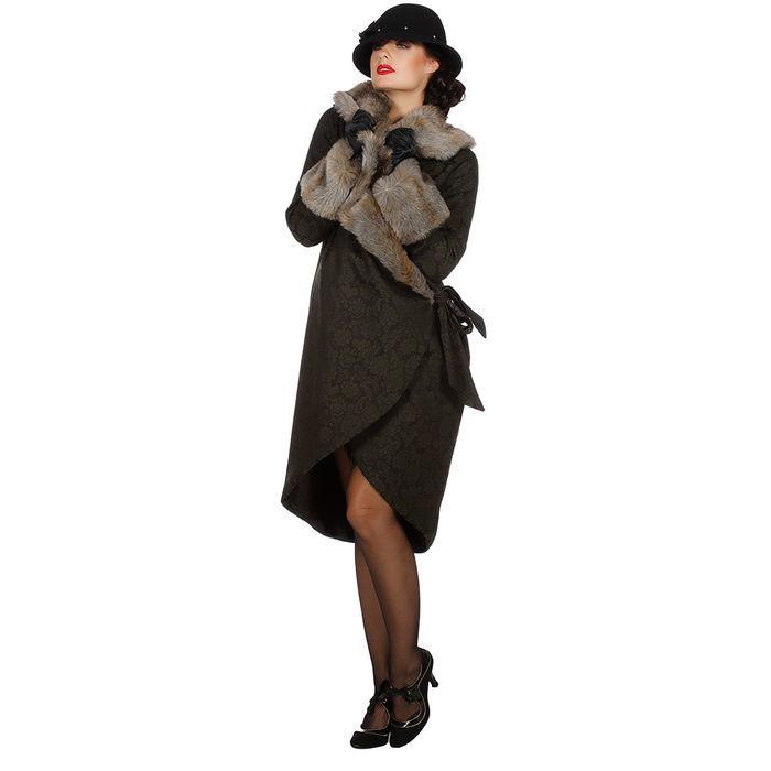 Damen Kostüm Mantel wilde 20er, Gr. 38 20er Jahre