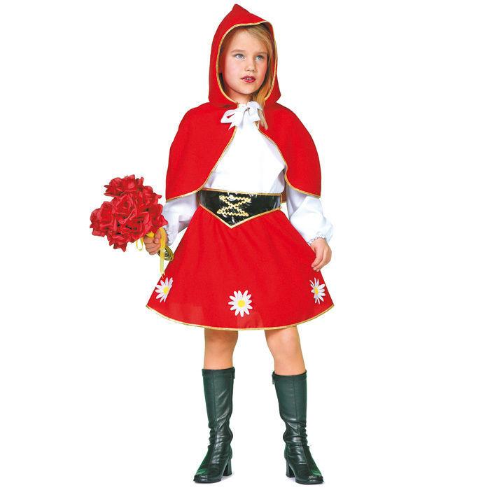 Kinder Kostum Rotkappchen Gr 104 Babykostume Madchen