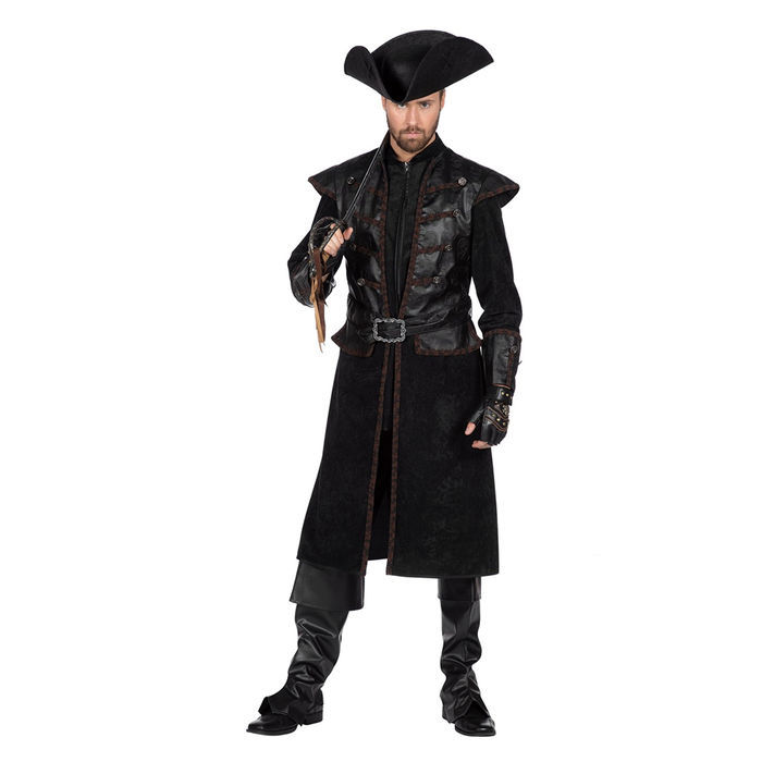 Seeräuber Herren M= 48,50 4 tlg Piraten Kostüm