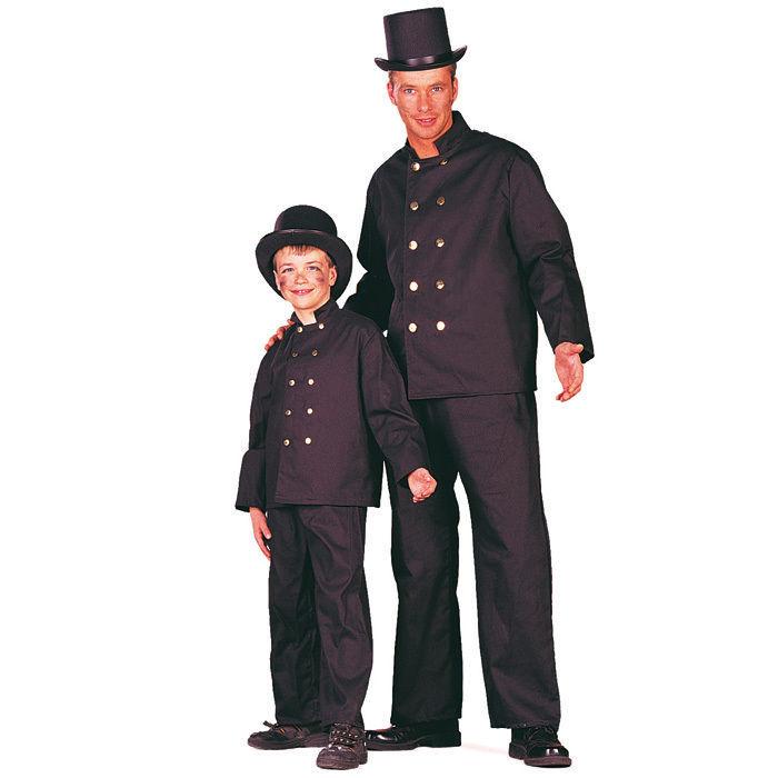 Kinder Kostum Schornsteinfeger Gr 152 164 Polizist Feuerwehr