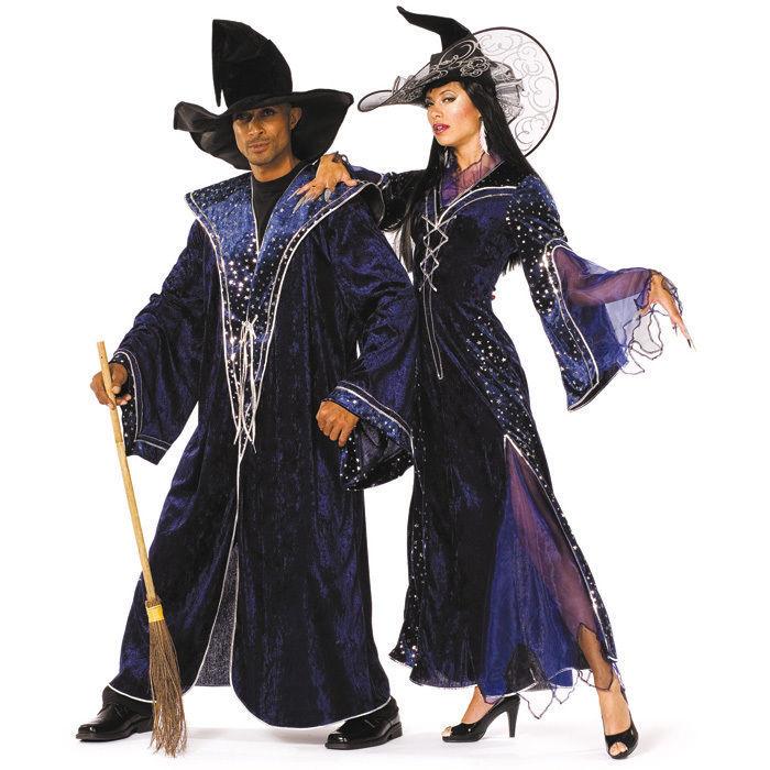 Damen Kostum Zauberin Kleid Gr 48 Hexenkostume Halloween Kostume Fur Damen Kostume Verkleiden Produkte Party Discount De