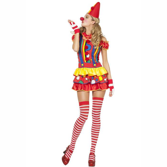 damen kost m sexy clown bubbles gr 46 clown baby co kost me nach themen kost me. Black Bedroom Furniture Sets. Home Design Ideas