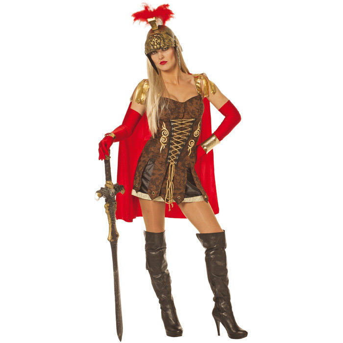 damen kost m spartacus lady 2 tlg gr 34 r mer gladiator gallier kost me nach themen. Black Bedroom Furniture Sets. Home Design Ideas