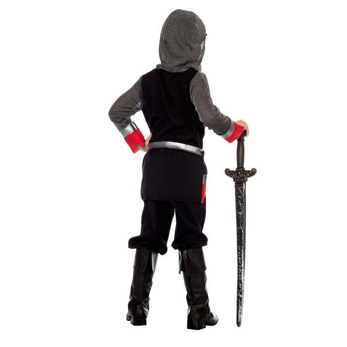 Bauarbeiter schwarz weiß  Kinder-Kostüm Ritter, schwarz-weiß Gr. 140-152 - Kinderkostüme 10 ...