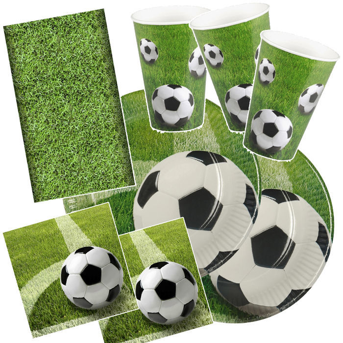 Party-Set-Basic für 20 Gäste Soccerball