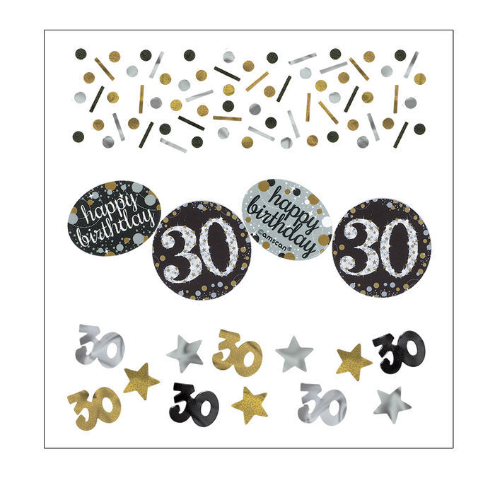 Konfetti Happy Birthday Sparkling 30, 34 g