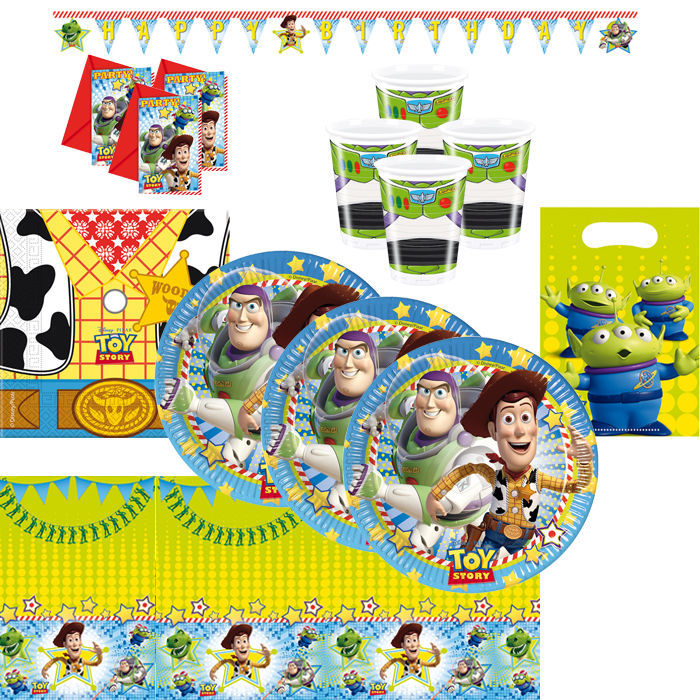 Party-Set Toy Story, 62 tlg.