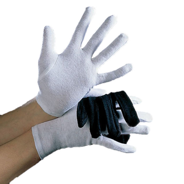 468b2c7ec982a7 Handschuhe Herrengröße, Baumwolle, schwarz - Zubehör Nikolauskostüm ...