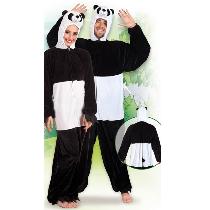 damen und herren kost m panda gr m l tierkost me pl schkost me kost me verkleiden. Black Bedroom Furniture Sets. Home Design Ideas